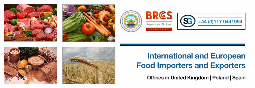 International and European Food Importers and Exporters :: +44 (0)117 9441994